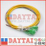 Отрезок провода кабеля пука оптического волокна отрезка провода 12 сердечников