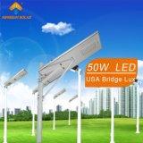 indicatore luminoso di via solare Integrated 50W (KS-S50)