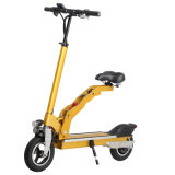 Neuester elektrischer faltbarer zwei Rad-Stoß-Roller mit Ersatzsitz
