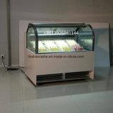販売のためのアイスキャンデーの表示フリーザー
