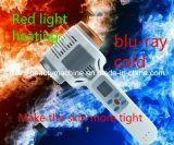 Аппаратура льда красного света горячего и холодного молотка молотка Contractive поры ввоза дома красотки аппаратуры терапией льда голубая светлая