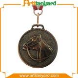 Förderung-Entwurfs-Firmenzeichen-Metallmedaille mit antiker Farbe