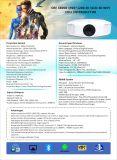 人間の特徴をもつWiFiのホームシアターのマルチメディアプロジェクター完全なLED HD価格