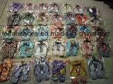 Stock Mixed dei sandali degli stock dei pistoni di Women&Men di disegni (FFST111801)