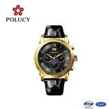 Relógio automático do movimento novo de China da caixa de aço inoxidável do projeto
