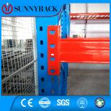Rack de paletes de armazenamento de aço com estrutura de feixe pesado