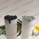 Botella privada de aire de acrílico del nuevo de la llegada cilindro blanco de la perla para el empaquetado del cosmético (PPC-AAB-037)