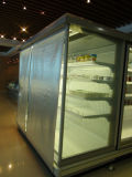 Persiana vertical para exibição de refrigeração de supermercado