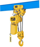 Alzamiento de cadena eléctrico de la fuente 500kg-7.5ton con la carretilla