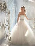 KLEID-Isolationsschlauch-Brücke-Hochzeits-Kleid der eleganten Spitze-2016 Braut