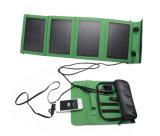 제조자 14W 휴대용 퍼스널 컴퓨터를 위한 Foldable 직물 피복 부대 태양 충전기