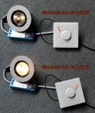Encastrer l'ÉPI réglable rotatif DEL Downlight de Dimmable 7W de plafond