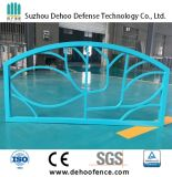 Ce / SGS Light Blue Powder Coated Galvanzied Steel Highway Fence