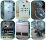 Calentador de inducción industrial con sistema de refrigeración líquida