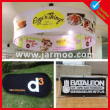 Custom cubierta Mostrar publicidad comercial tensión circular de techo suspendido Banner