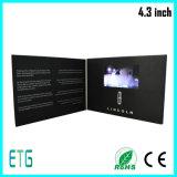 Поздравительная открытка LCD приглашения 4.3 дюймов видео-