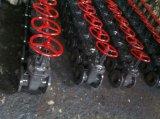 Valvola a saracinesca di norme GOST (flangiata, acciaio di getto, coperchio rotondo)