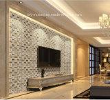 Piccole mattonelle di mosaico naturali dell'ardesia della striscia per la decorazione della parete (FYSM061)