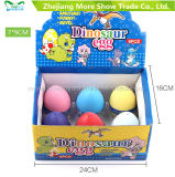 ペットDinasourの多彩な魔法の成長する卵の工夫卵は7*9cmをもてあそぶ