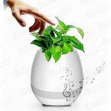 Bluetoothの植木鉢のスピーカーLEDの軽い音楽スマートな接触植木鉢