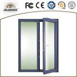 Puerta de aluminio modificada para requisitos particulares fabricación del marco de la buena calidad