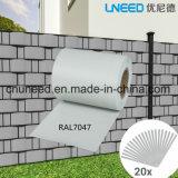 좋은 품질 Ral7047 450g 19cm*35m PVC 지구 스크린 정원 담