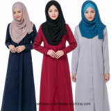 Camisa longa muçulmana Chiffon das mulheres do vestido da forma da alta qualidade