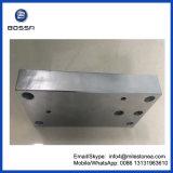 金属の機械装置部品のステンレス鋼の版
