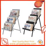 Portátil Magazine Rack Brochure Display Stands