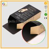 Rectángulo de empaquetado de papel cosmético en la impresión de encargo