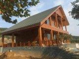 Camera chiara della struttura d'acciaio, villa prefabbricata d'acciaio chiara
