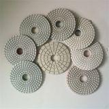 4 дюйма - пусковые площадки влажного диаманта высокой эффективности меля полируя для гранита