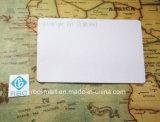 Étiquettes estampées par Cmyk personnalisées blanc ultra-légères de carte d'identification de PVC de MIFARE EV1 RFID/NFC