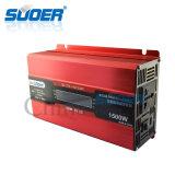 Инвертор солнечной силы Suoer 1500W 12V 220V (SDB-D1500A)