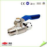 "1/2"" Girar 3/8"" interruptor de la válvula del metal para el sistema de agua RO"