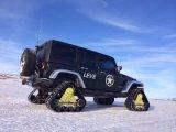 小型トラックおよびSUVのためのオフロード手段のゴム製クローラー