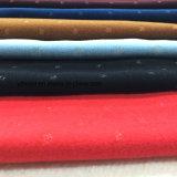 Cóncavo-convexo de plata hilo de lana tejido de lana