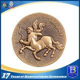 Монетка возможности металла с прозрачной эмалью для сувенира