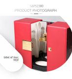 Rectángulo de regalo rígido del vino del lujo del MDF de la pintura espléndida del piano