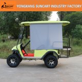 Personen-elektrisches Auto des Großverkauf-4, 2 vordere Seater und 2 Rückseite Seater Golf-Karre