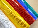 De glanzende Fluorescente Weerspiegelende Sticker van de Kleur