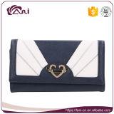 زرقاء لون [بوونوت] تصميم [بو] قابض محفظة محفظة لأنّ نساء