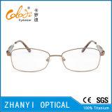 Blocco per grafici di titanio di vetro ottici di Eyewear del monocolo dell'ultimo Pieno-Blocco per grafici di disegno per la donna (9321)