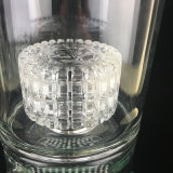 2016 más nuevos altos gruesos pesados invisibles Tubos de vidrio verde con fumar Bowl o cuarzo Banger