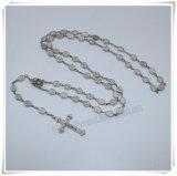 金属は玉を付ける数珠にか楕円形のビードの数珠または宗教項目またはカトリック教の数珠または聖母マリアのビードの数珠(IOcr399)