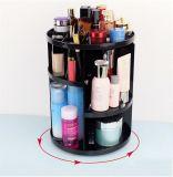 Grande capacité 360 degrés organisateur tournant de produits de beauté renivellement acrylique de mémoire/de révolution