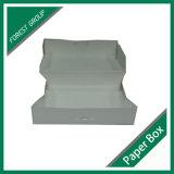 Boîte en carton estampée par coutume pour le beignet