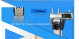 projetor Coolux X6 do diodo emissor de luz 3D com o projetor da DLP-Ligação 3D 1080P da bateria do Li-íon 8000mAh