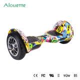 Bester Preis! Weihnachtsgeschenk 2016! 10 Rad-intelligentes Ausgleich-Rad-elektrisches Roller Hoverboard E-Roller Cer RoHS/des Zoll-Graffiti-Schwebeflug-Vorstand-zwei UL