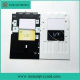Bandeja de cartão do PVC para a impressora de Epson L801
